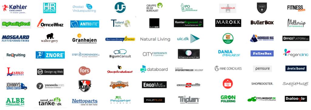 Linkbuilding pakke logoer